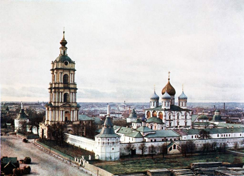 The Novospassky Monastery in MoscowPicture taken in 1911-1912